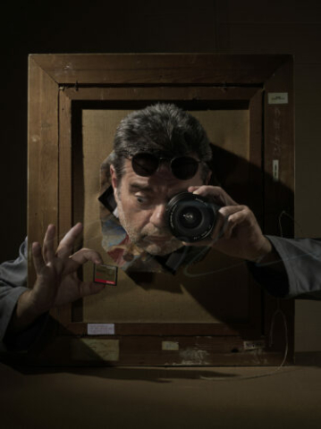Bart Ramakers Selfportrait